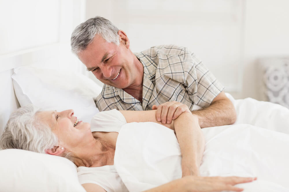 Facts Before Buying A Mouth Guard To Stop Snoring Senior Couple