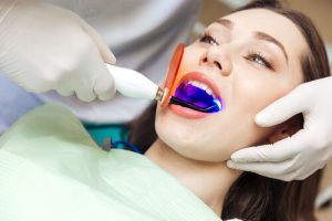 in-office tooth whitening treatments